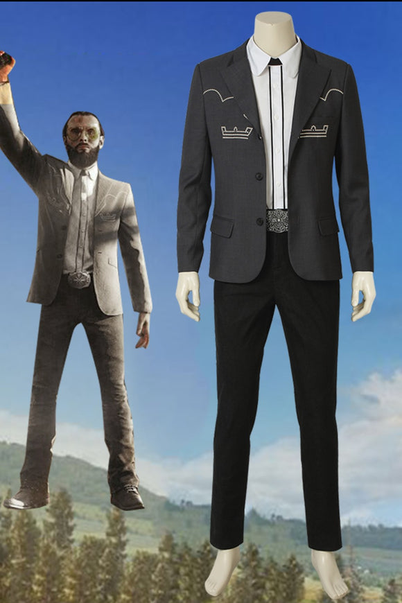 Far Cry 5 Inside Eden's Gate The Father Joseph Seed Cosplay Costume