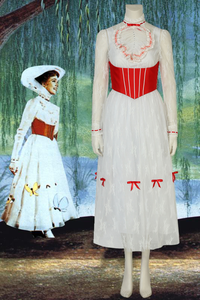 Film Mary Poppins Mary Cosplay Costume