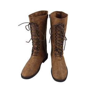 Game Fallout 4 Sole Survivor Vault 111 Cosplay Boots