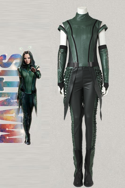 Guardians Of The Galaxy 2 Cosplay Mantis Costume Adult Women