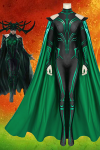 THOR 3 Ragnarok Hela Jumpsuit With Cape