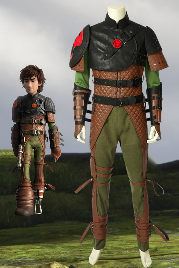 How To Train Your Dragon 2 Hiccup Cosplay Costume