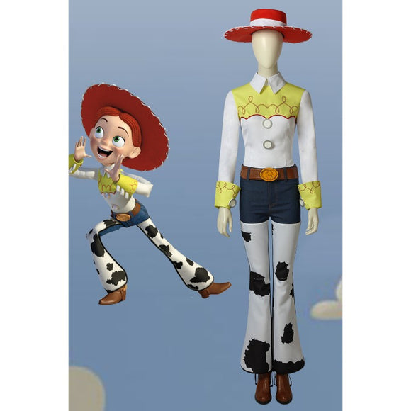 Disney Toy Story Jessie Cosplay Costume With Shoes