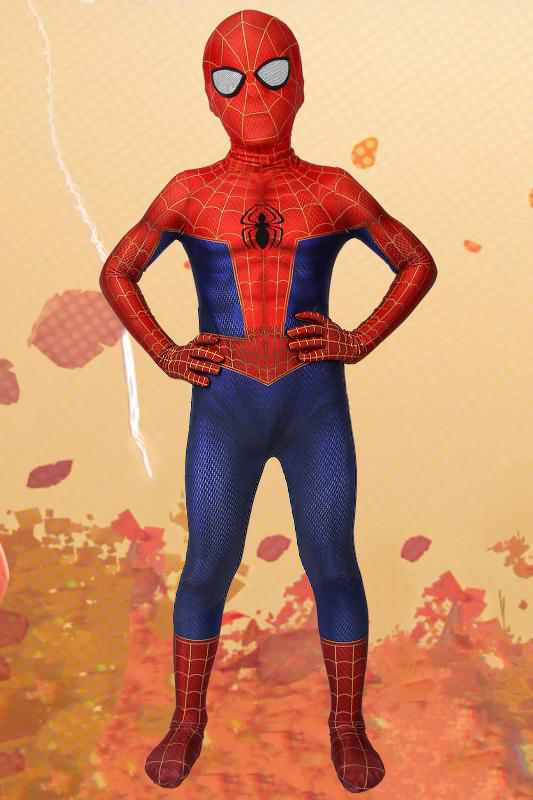 Spiderman Into The Spider-Verse Peter Parker Jumpsuit For Kids