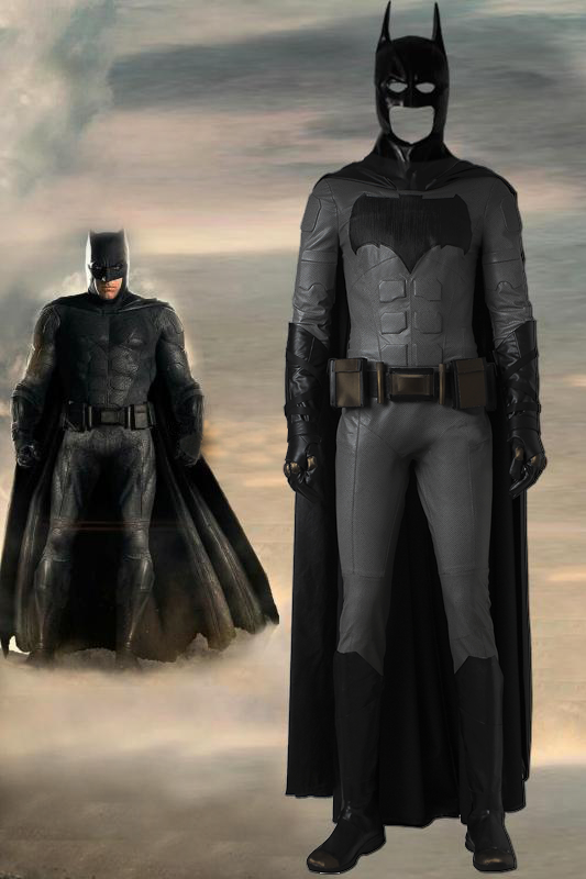 DC Comic Justice League Batman Cosplay Costume With Cape