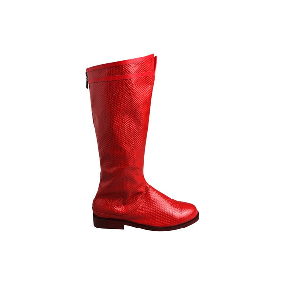 Justice League Superman Clark Kent Cosplay Boots