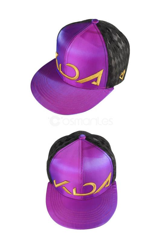 League Of Legends LOL KDA Akali Cosplay Hat