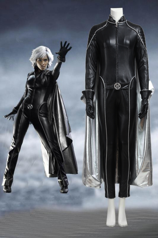 Marvel X-Men The Last Stand Storm Ororo Munroe Cosplay Costume