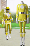 Mighty Morphin' Power Rangers Boy Tiger Ranger Cosplay Costume With Boots