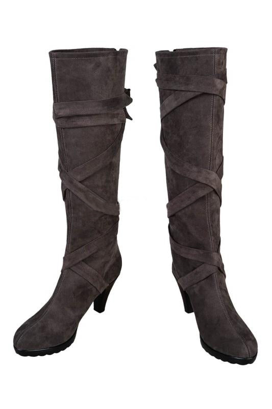 Game Of Thrones Season 8 Mother Of Dragons Daenerys Targaryen Cosplay Boots C