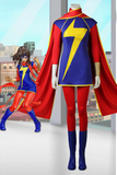 Ms. Marvel Kamala Khan Cosplay Costume With Boots