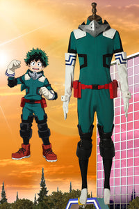 My Hero Academia Midoriya Izuku Deku Cosplay Costume New Design
