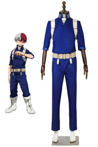 My Hero Academia Todoroki Shoto Hero Cosplay Costume