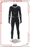 [In Stock]Marvel Captain America: Civil War Black Panther T'Challa Cosplay Costume(No Boots)