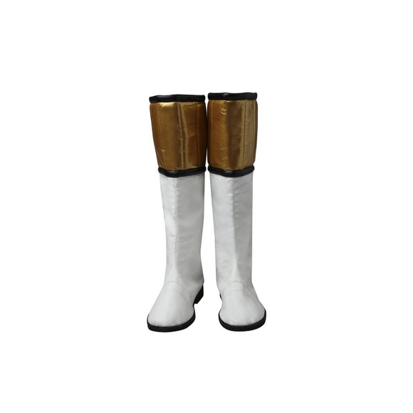 Power Rangers White Ranger Tommy Oliver Cosplay Boots