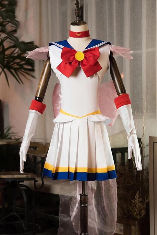 Sailor Moon Usagi Tsukino Cosplay Costume Style D
