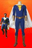 Shazam! Freddy Freeman Blue Cosplay Costume