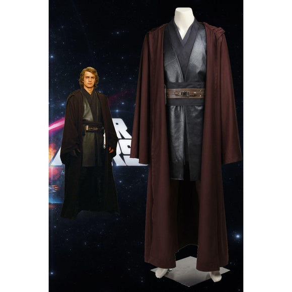 Star Wars Episode III Revenge Of The Sith Anakin Skywalker Cosplay Costume