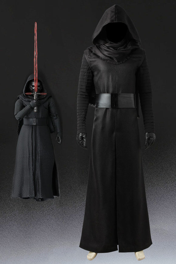 Star Wars: The Force Awakens Kylo Ren Cosplay Costume