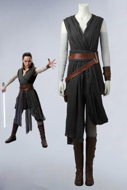Star Wars: The Last Jedi Rey Cosplay Costume