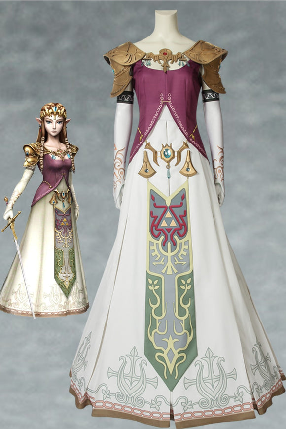 The Legend Of Zelda: Twilight Princess Princess Zelda Cosplay Costume