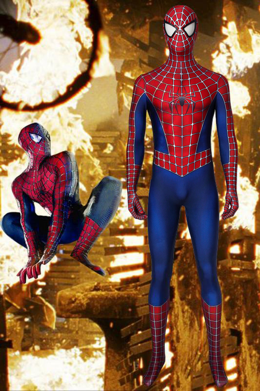 Spiderman Tobey Maguire Cosplay Jumpsuit