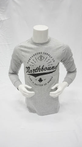 NORTHBOUND SCRIPT LOGO LONG SLEEVE NORTHBOUND