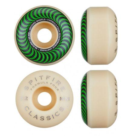 SPITFIRE F4 CLASSIC WHEELS 52MM SPITFIRE