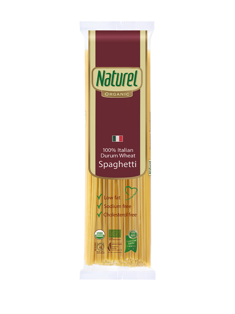 NATUREL ORGANIC SPAGHETTI 500GM