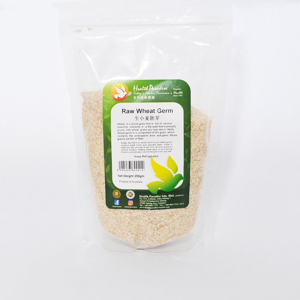 HP ORG. RAW WHEAT GERM 250G
