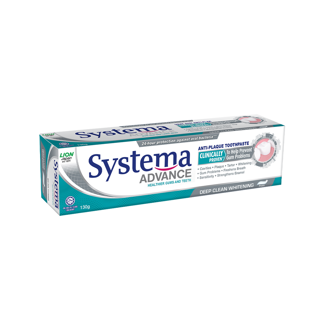 SYSTEMA ADV TOOTHPASTE DEEP CLEAN WHITENING 130G