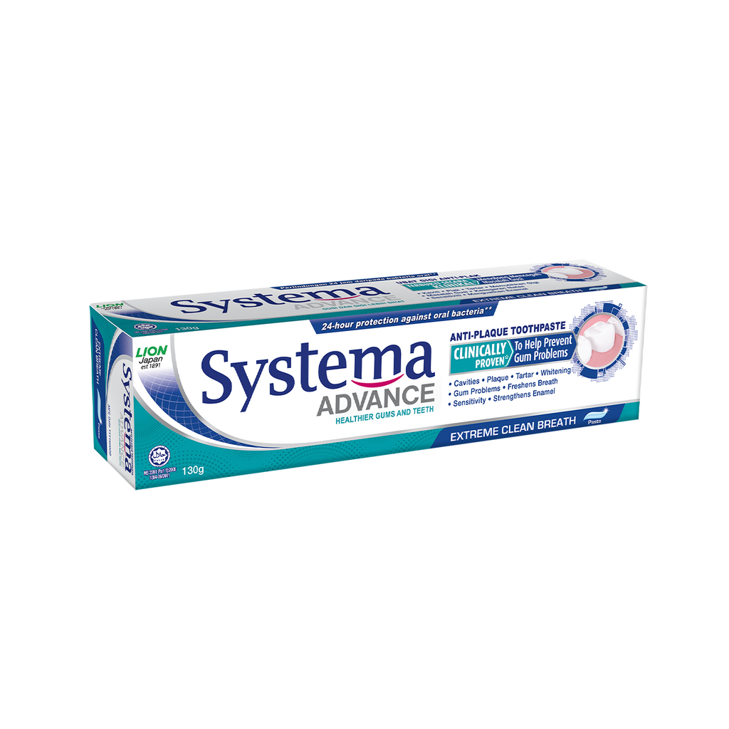 SYSTEMA ADV TOOTHPASTE EXTRA CLEAN BREATH 130G