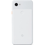 Google Pixel 3a in Clearly White