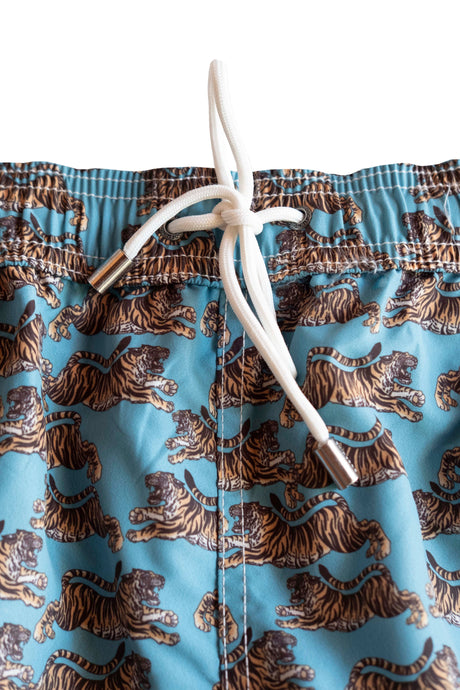 BEAUTY MEETS BEAST SWIM TRUNK