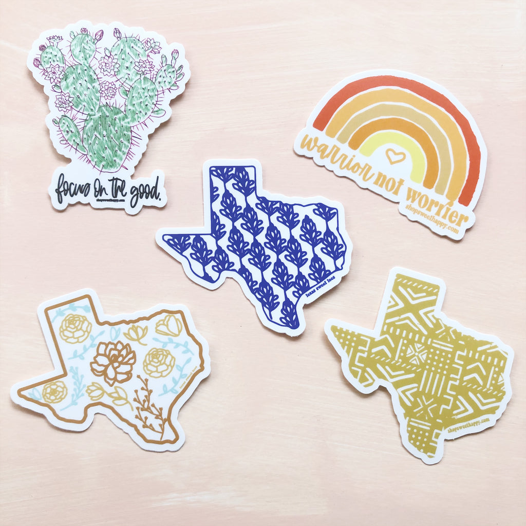 Sweet Stickers A - Sweet Tees + happy things
