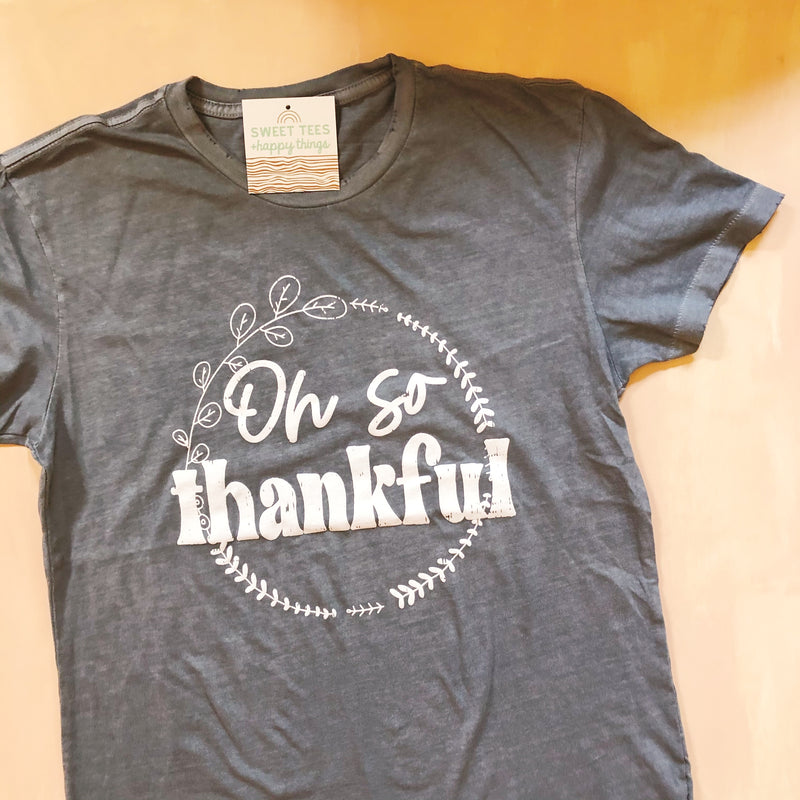 Oh So Thankful (vintage tee)