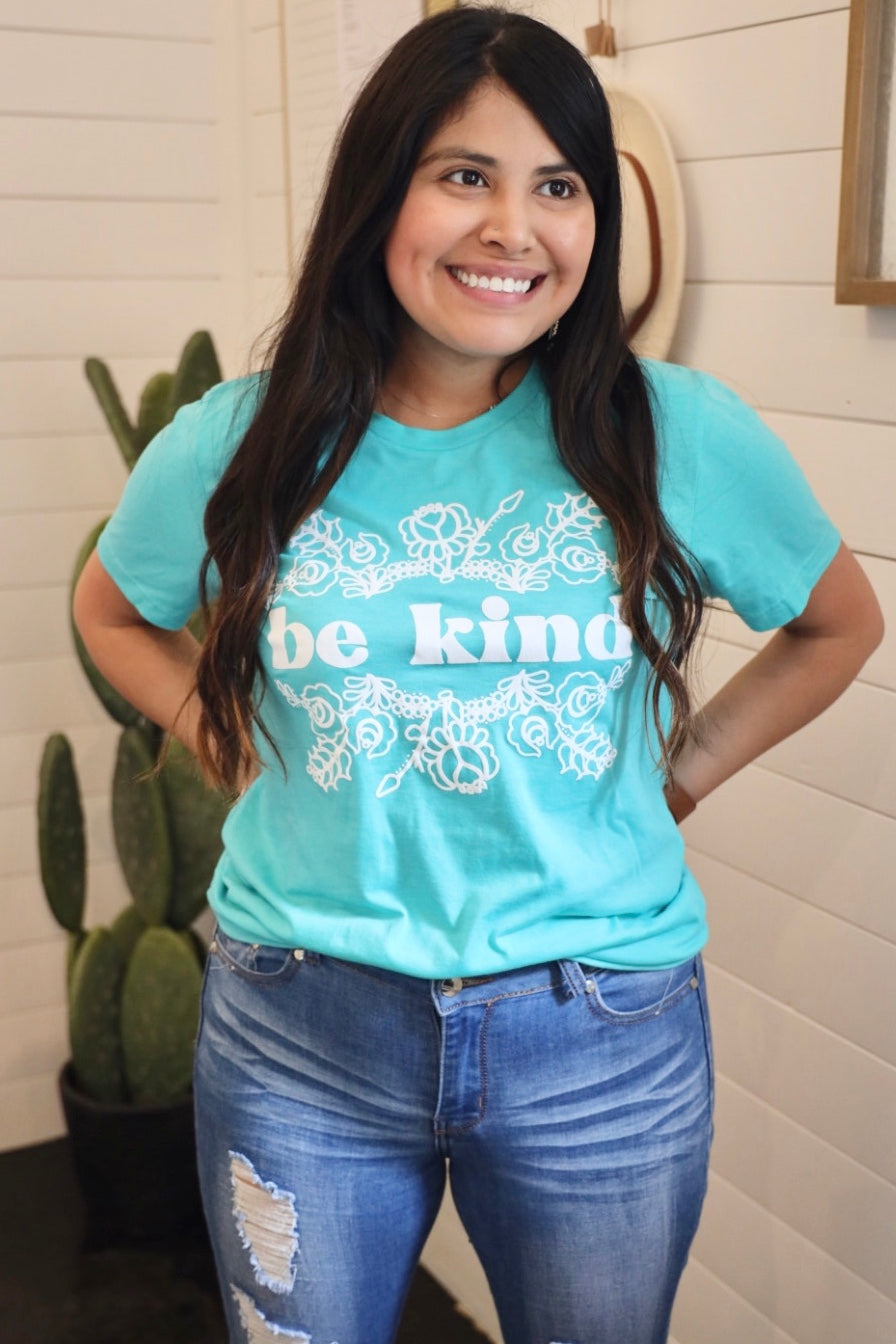 Be Kind (Teal & Orange)