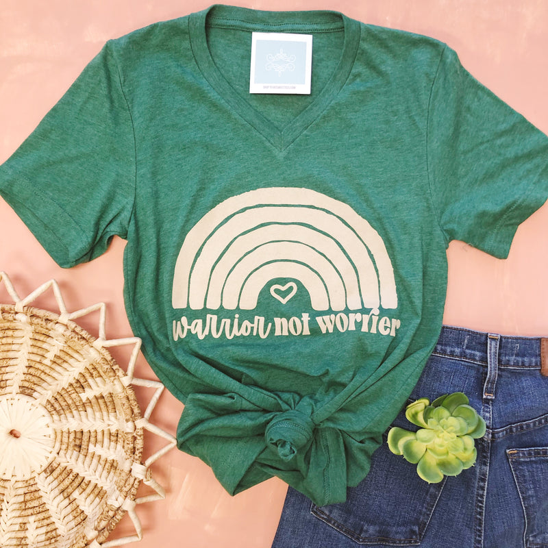 Warrior (Lucky Green) - Sweet Tees + happy things