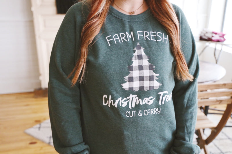 Farm Fresh Sweatshirt - Sweet Tees + happy things