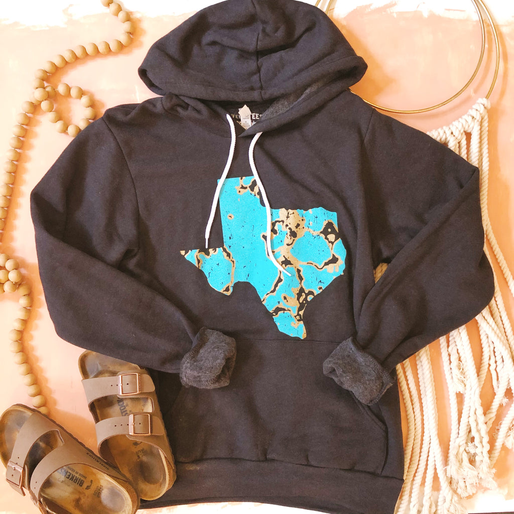 {PREORDER} Turquoise Texas Hoodie