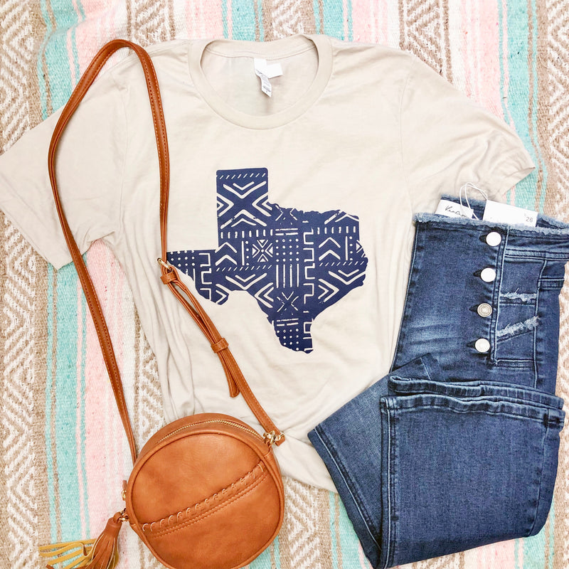 SW Texas (navy) - Sweet Tees + happy things