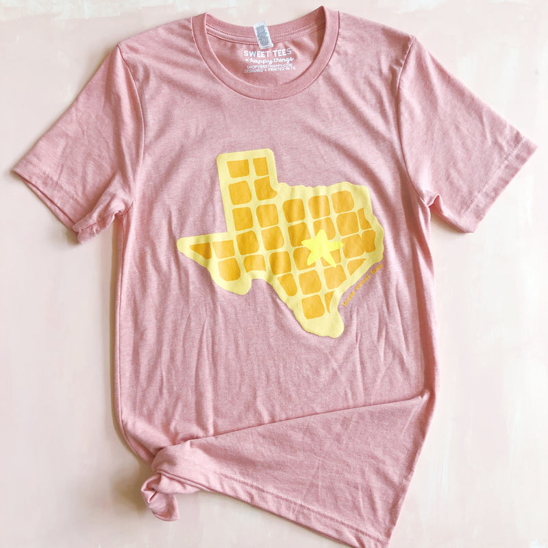 Texas Waffle (Vintage Coral) - Sweet Tees + happy things