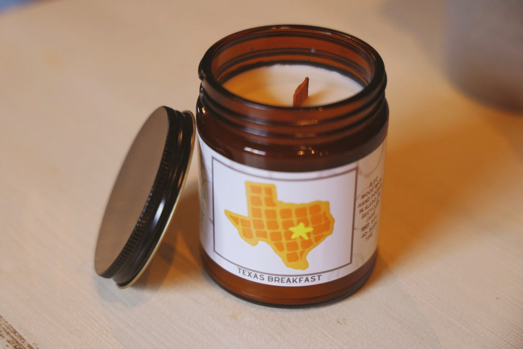 Texas Breakfast Candle