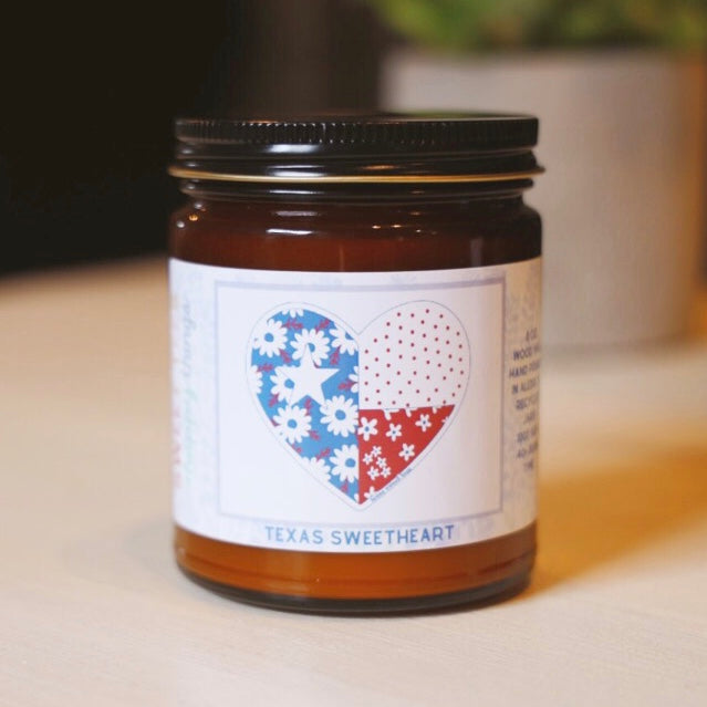 Texas Sweetheart Candle