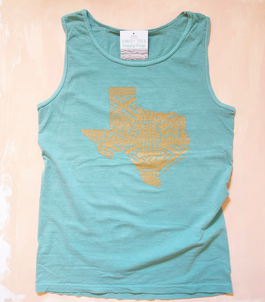 Golden Girl Texas Tank