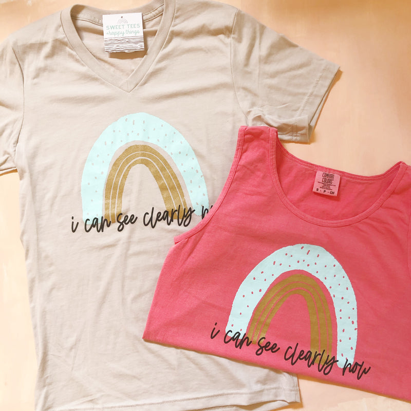 I Can See Clearly Tank - Sweet Tees + happy things