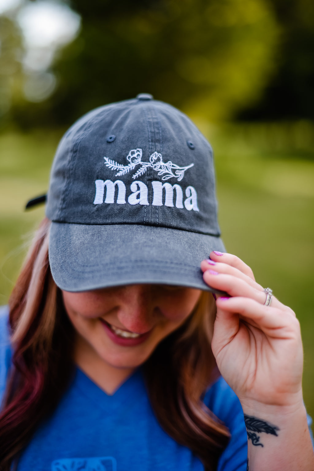 Mama Cap (2 colors available) - Sweet Tees + happy things