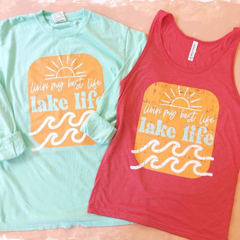 Lake Life Tank - Sweet Tees + happy things