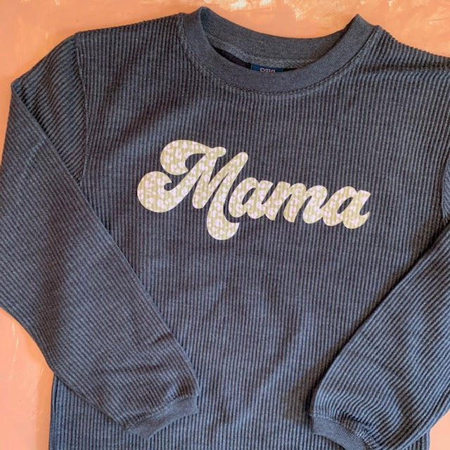 Mama Corded Pullover - Sweet Tees + happy things