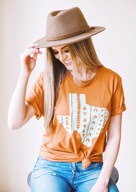 SW Texas (heather autumn) - Sweet Tees + happy things